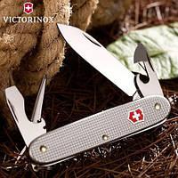 Нож Складной Мультитул Викторинокс Victorinox PIONEER (93мм, 8 функций), серебро 0.8201.26