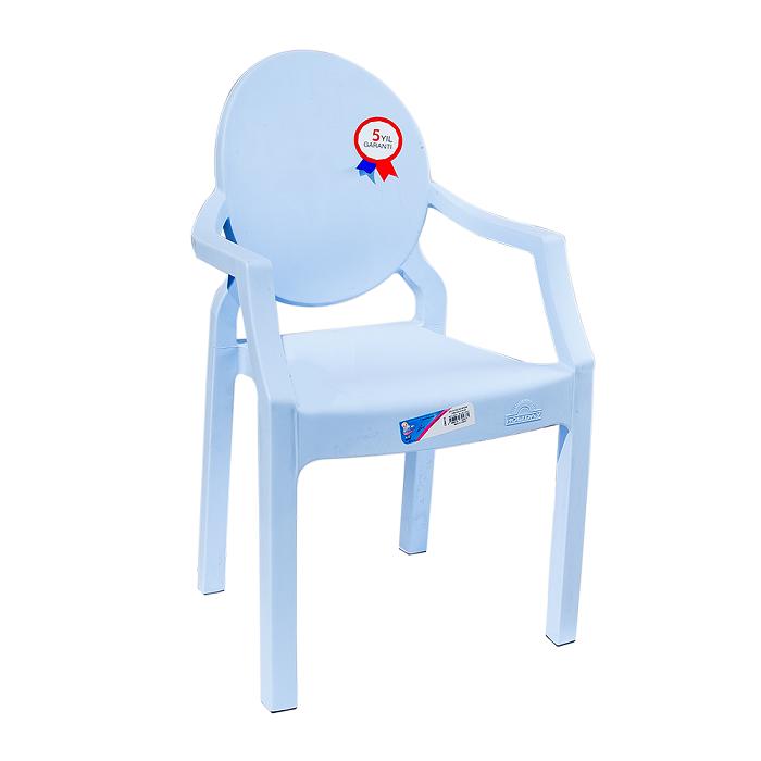 Кресло детское Irak Plastik Afacan синее