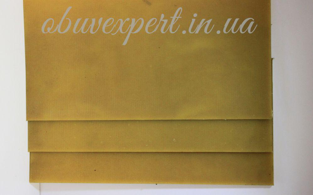 Полиуретан обувной  400х200х6  светло-беж , рифленый