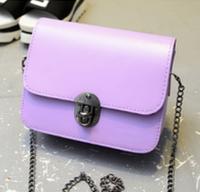 Женская сумка клатч сиреневая Уценка, фото 1