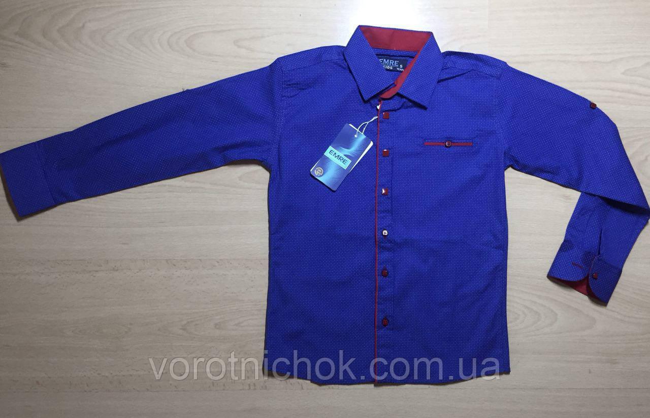 Детская рубашка для мальчиков 2- 5 лет
