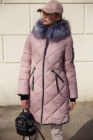 Зимнее пальто с капюшоном Лилиан Нью вери (Nui Very) , фото 2