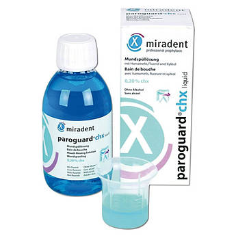 PAROGUARD, CHX 0,20% (ПАРОГАРД) ополаскиватель полости рта