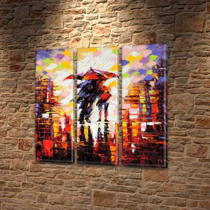 Картины купить модульные на Холсте син., 65x65 см, (65x20-3), фото 2