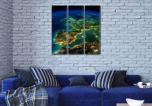 Купить картину модульные, на Холсте син., 65x65 см, (65x20-3), фото 3