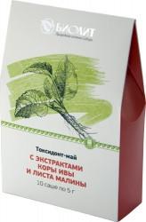 Токсидонт-май с экстрактами коры ивы и листа малины Арго артрит, артроз, подагра, остеохондроз, грипп, бронхит