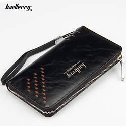 Кошелёк Baellerry Leather W009  ЧЕРНЫЙ