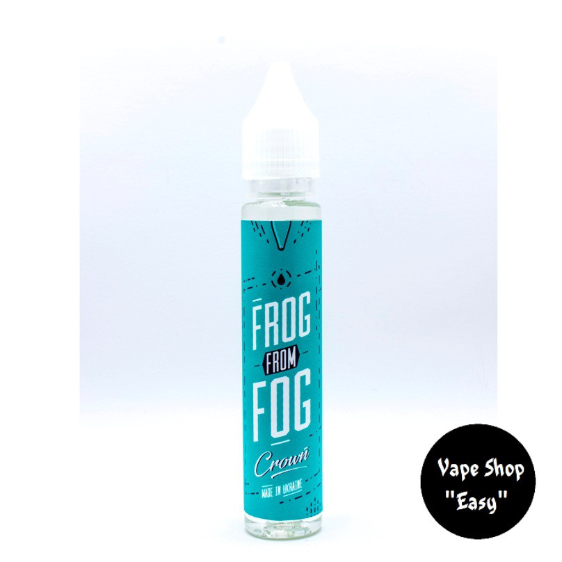 Frog From Fog Crown 30 ml 1.5 мг Премиум жидкость (заправка) для электронных сигарет\вейпа.