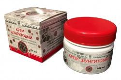 Крем шунгитовый с красным перцем, камфорой, масло эвкалипта Арго, для суставов, мышц, убирает боль, невралгия