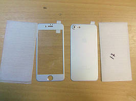 Комплект из стекла и задней крышки Iphone 7 Gray