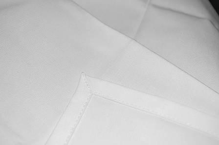 Скатерть 1,50*1,50 1см Р-195 Белая Европодворот, фото 2