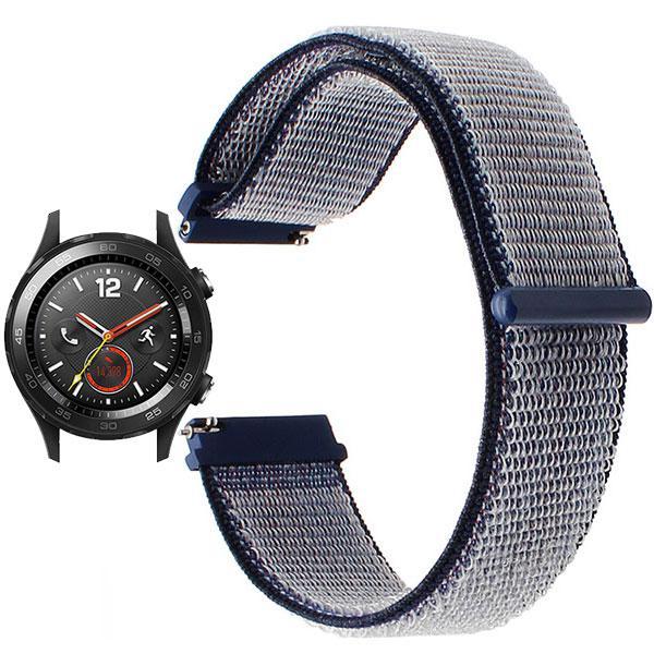 Нейлоновий ремінець для годинника Huawei Watch 2 - Navi Blue