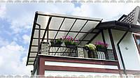 Навесы из поликарбоната для террас и балконов