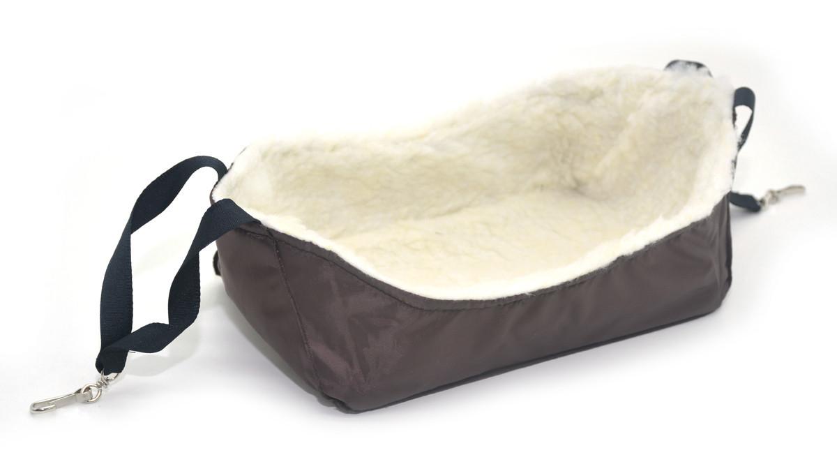 Гамак для шиншиллы 240х150х90 коричневый