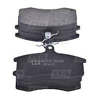 Тормозные колодки передние ВАЗ 2108-21099, 2113-2115 дискового тормоза LSA LA 2108-3501090