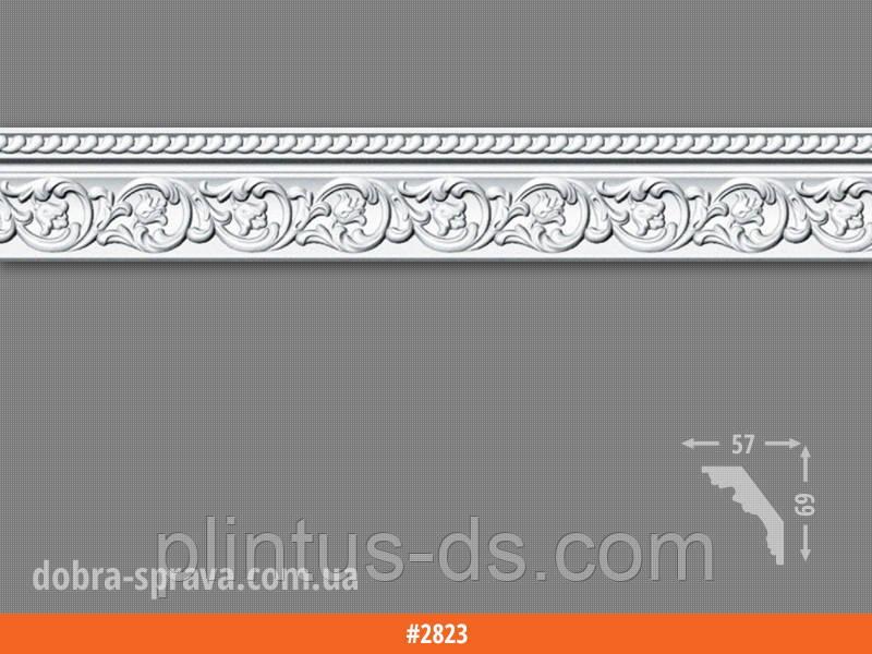 Потолочный плинтус 2м (30 штук)