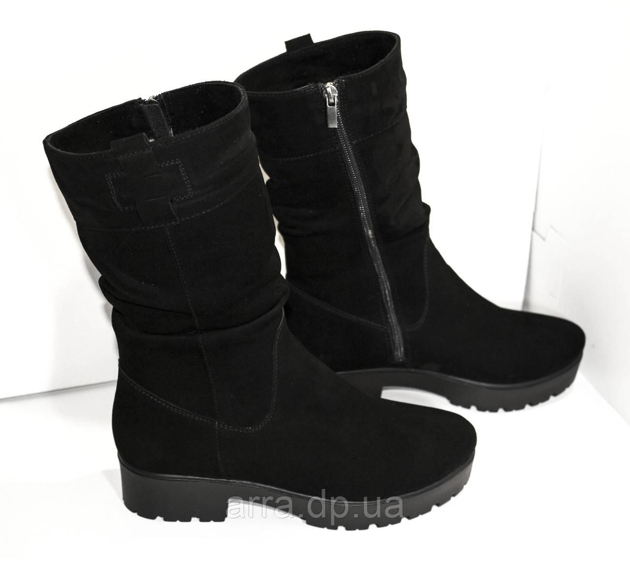 5287495e8 Полусапожки замшевые - Интернет - магазин кожаной обуви от фабрики  производителя ARRA г. Днепр в