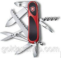 Нож Мультитул Складной Викторинокс Victorinox EVOGRIP S17 (85мм, 15 функций), красный 2.3913.SC