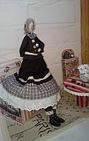 Кофейный винтажный ангел в стиле Тильда Hand Made, подарок, фото 1