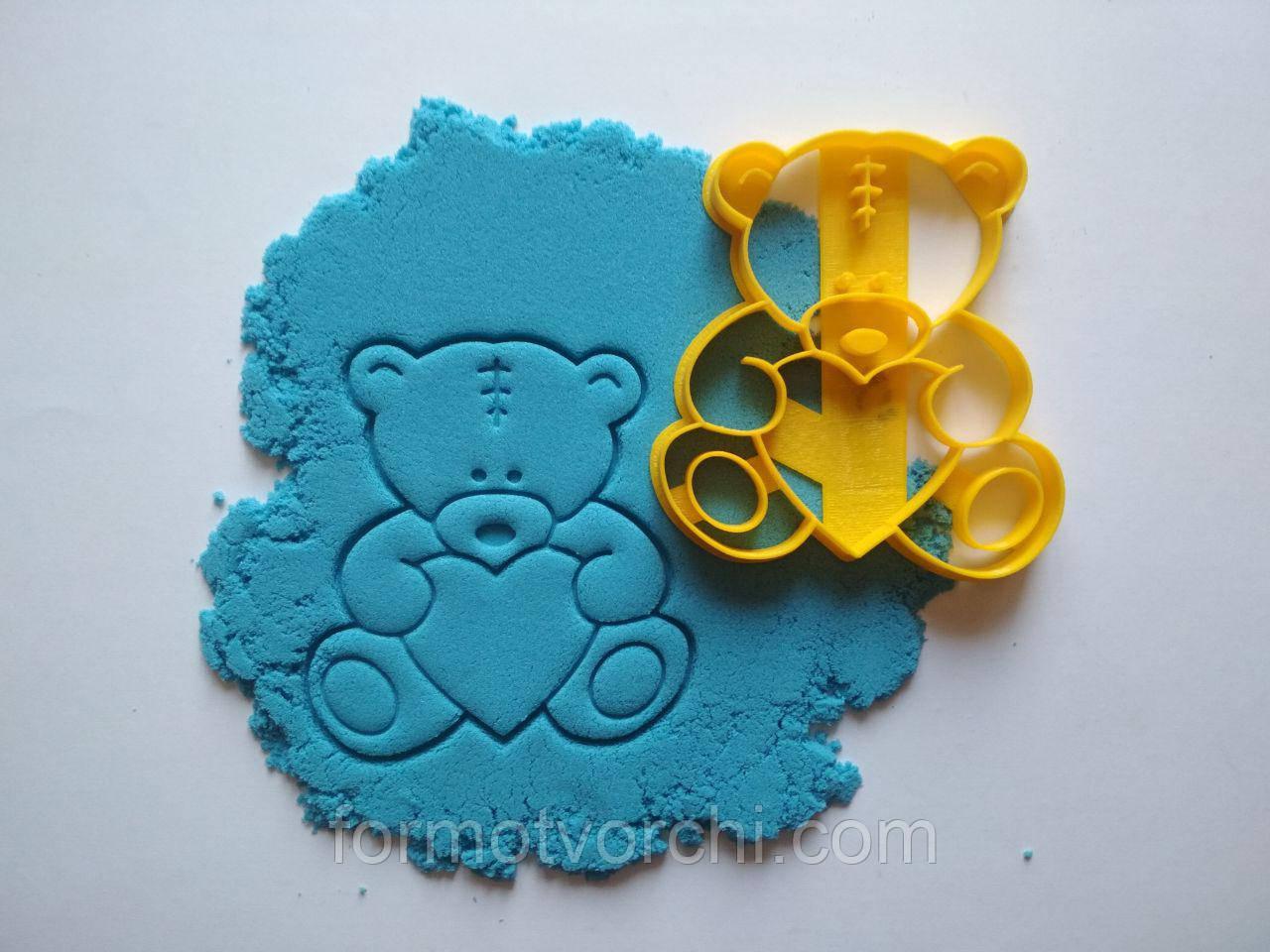 """3D формочки-вырубки для пряников """"Мишка 12"""""""
