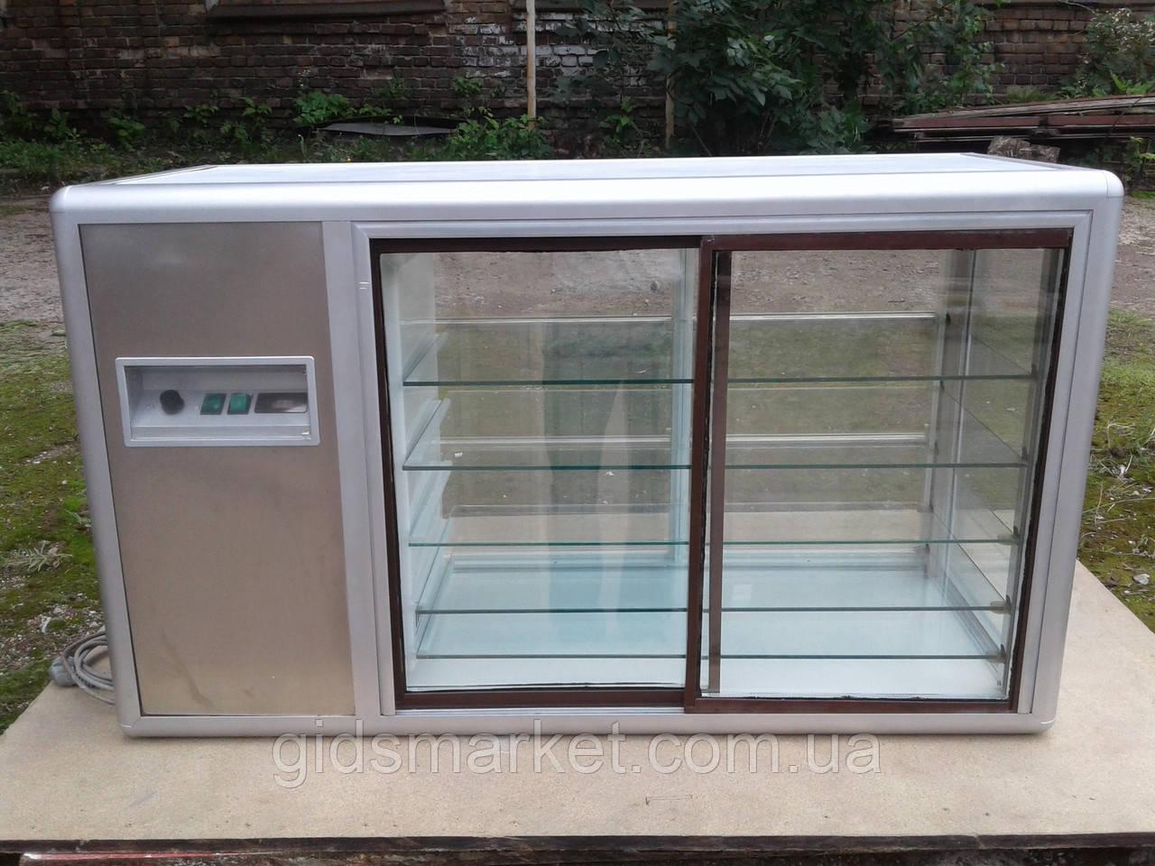 Холодильная настольная витрина Tecfrigo Orizont 200 ss б/у, холодильная витрина б у, витрина настольная б у