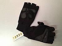 2 пары тёплые флисовые перчатки , унисекс, для морозов до -20°с, открытые пальцы + варежка, зимние рукавицы