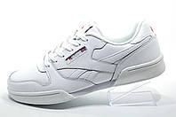 Кожаные кроссовки в стиле Reebok Retro NPC 2, Белые\White