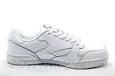 Кожаные кроссовки в стиле Reebok Retro NPC 2, Белые\White, фото 3