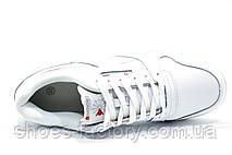 Кожаные кроссовки в стиле Reebok Retro NPC 2, Белые\White, фото 2