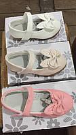 Детские туфли с ушками для девочек оптом Размеры 25-30
