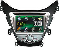 """Штатный магнитофон RS HYUNDAI ELANTRA 8"""" RS"""