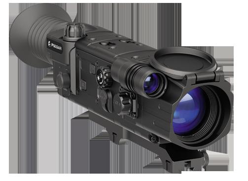 Цифровой прицел ночного видения с дальномером Pulsar Digisight LRF N870 (c креплением)