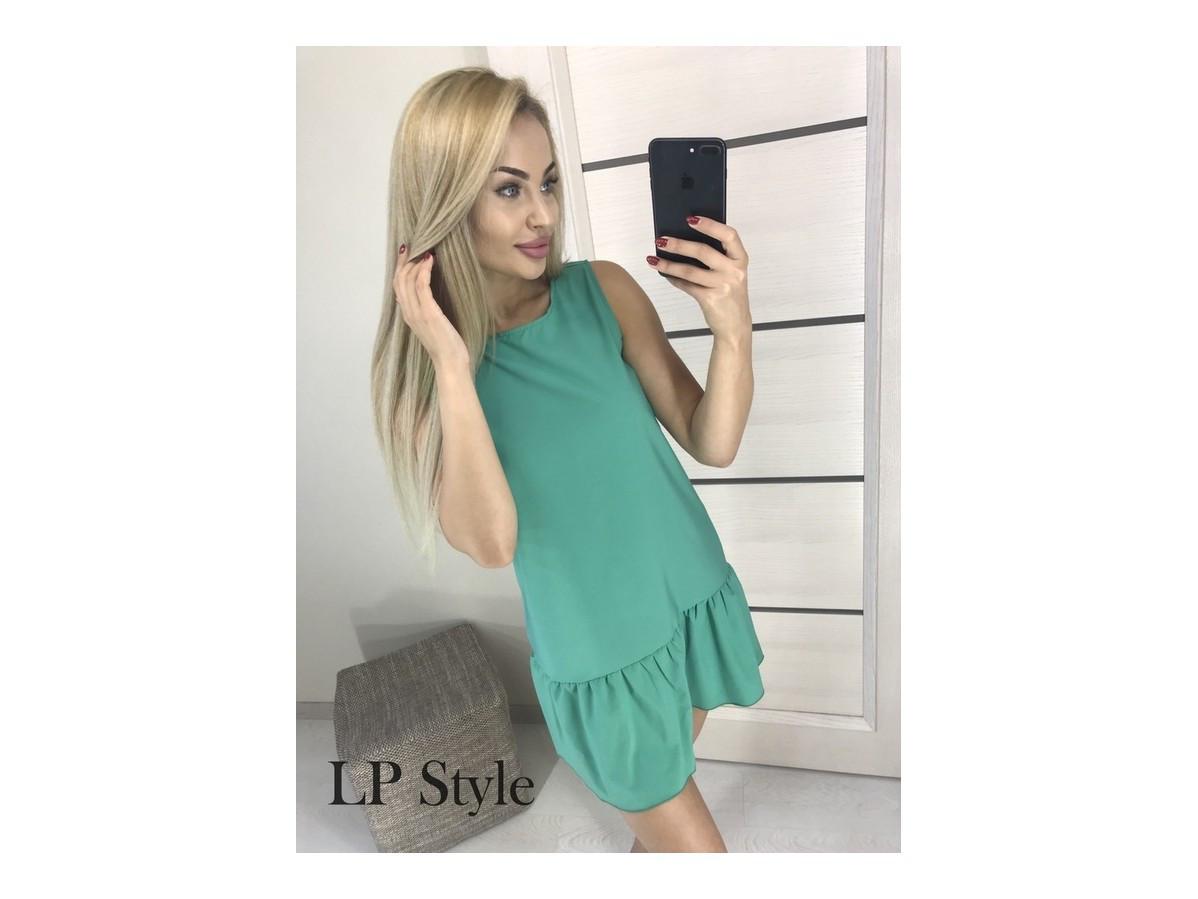 ... Летнее платье без рукавов электрик красный розовый бирюзовый 31299,  фото 5 399af789bbe