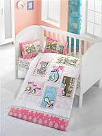 Детский комплект постельного белья  LIGHTHOUSE дит. BABY GIRL 100*150/2*35*45 *