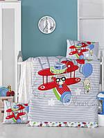 Детский комплект постельного белья  LIGHTHOUSE дит. FLYING 100*150/2*35*45