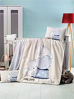 Детский комплект постельного белья  LIGHTHOUSE дит. FROZEN 100*150/2*35*45