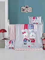 Детский комплект постельного белья  LIGHTHOUSE дит. LOVE RAIN 100*150/2*35*45