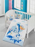 Детский комплект постельного белья  LIGHTHOUSE дит. OCEAN 100*150/2*35*45 *
