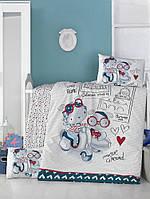 Детский комплект постельного белья  LIGHTHOUSE дит. TRAVEL BEARS 100*150/2*35*45