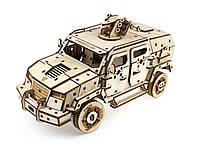 Деревянный 3D-пазл Racor Бронеавтомобиль Fantom 373 элемента 330х170х145 (R10001)