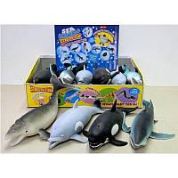 Животные морские 12 шт в коробке