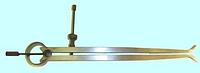 Кронциркуль для внутренних измерений 600мм с винтом