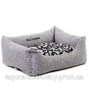 Лежак ЖАСМИН № 2 (62*50*19см) для собак и кошек, фото 2