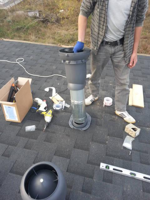 ВЕНТИЛЯЦИОННЫЙ ВЫХОД направляют воздушные потоки и защищает вентиляционную систему от попадания осадков и грязи.
