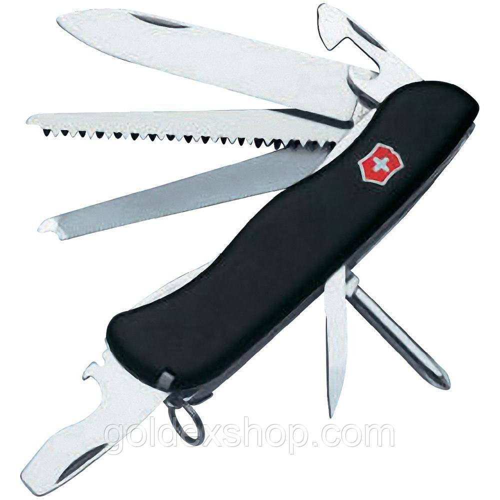 Нож Складной Мультитул Викторинокс Victorinox LOCKSMITH (111мм, 14 функций), черный 0.8493.3