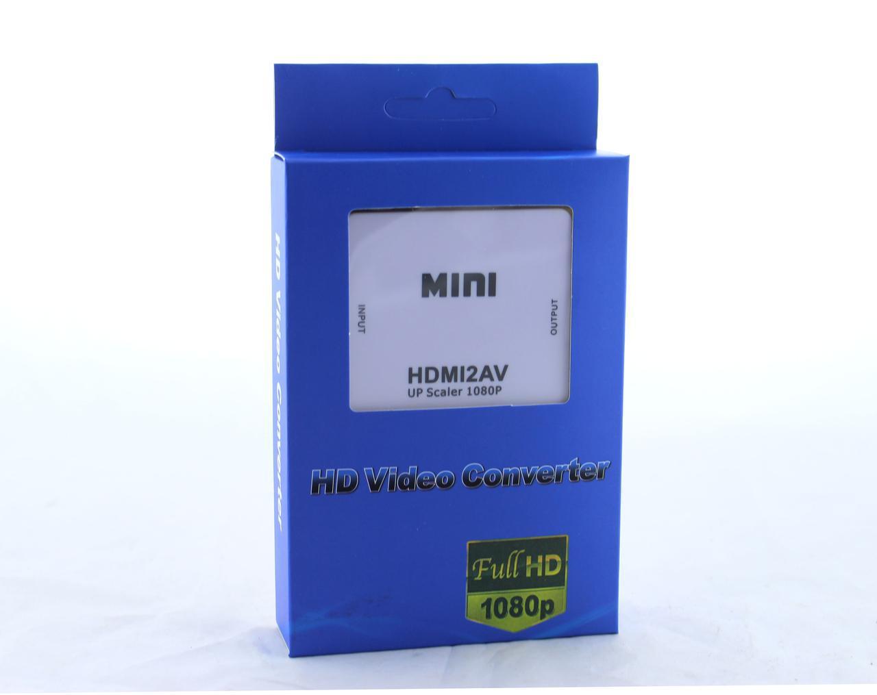 Конвертер HDMI to AV (RCA) \ av 001