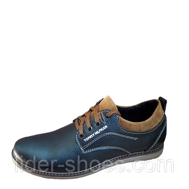 Мужские туфли в стиле Tommy Hilfiger