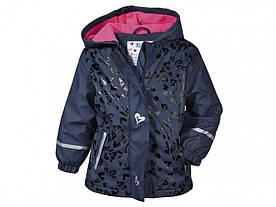Куртка для девочки Lupilu водонепроницаемая р.86/92, 98/104, 110/116, 122/128см
