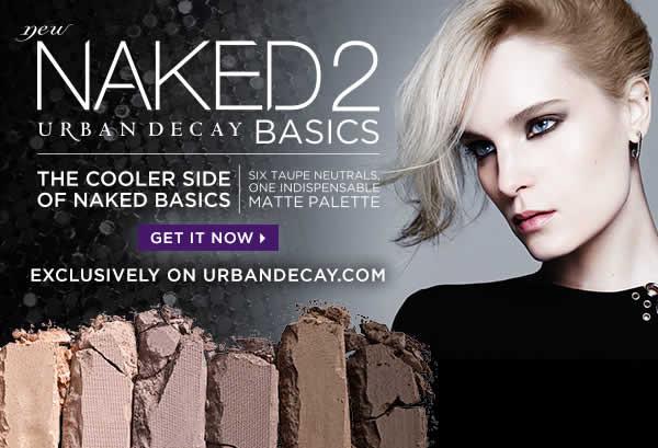 Палетка теней Naked2 Basics