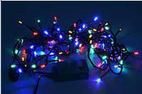 Новогодняя гирлянда multi 400 ламп 12,5 метров 8 режимов свечения